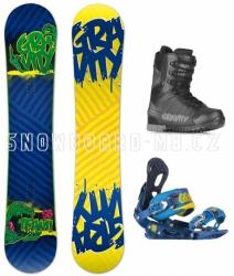 Pánský snowboard komplet Gravity Team 4