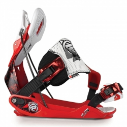 Snowboardové vázání Flow The Five-SE red