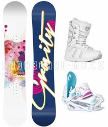 Dámský snowboard komplet Gravity Sirene