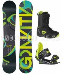 Snowboard komplet Gravity Adventure green
