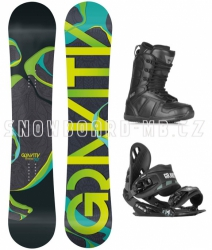 Snowboard komplet Adventure black