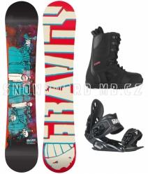 Snowboard komplet Madball black