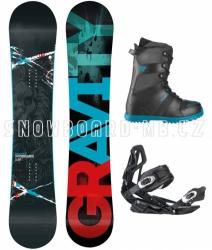 Snowboard komplet Gravity Team blue