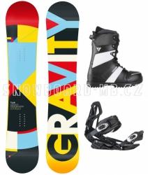 Snowboard komplet Gravity Contra white