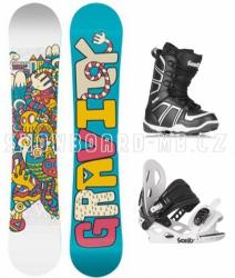 Dětský snowboard komplet pro dívky Gravity Fairy
