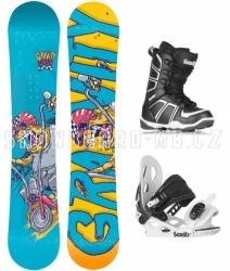 Snowboard komplet pro kluky Gravity Flash