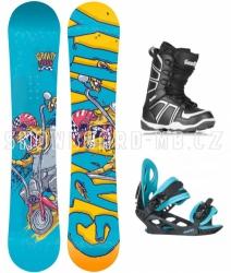 Chlapecký snowboard komplet Gravity Flash