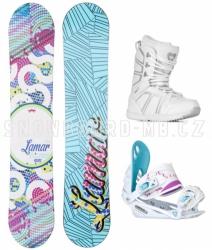 Dívčí snowboard komplet Lamar Essence