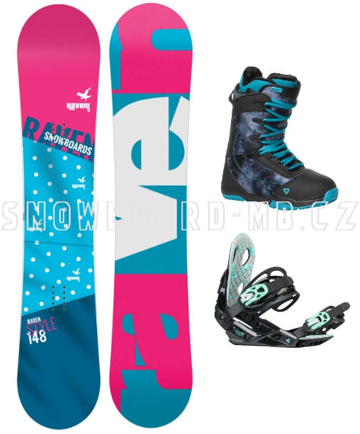9192f528f Dámský snowboard komplet Raven Style 2017 | Snowboard-Shop.Net
