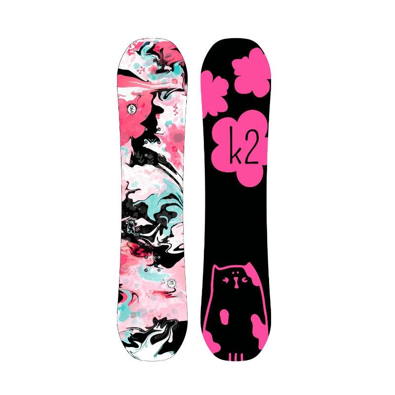 Dětské Snowboardy 90 cm. Dětský snowboard K2 Lil Kat 2017 18 705b89d688